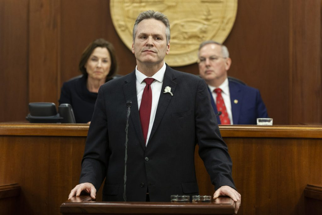 Gov. Mike Dunleavy returns to discuss resolving the state budget stalemate