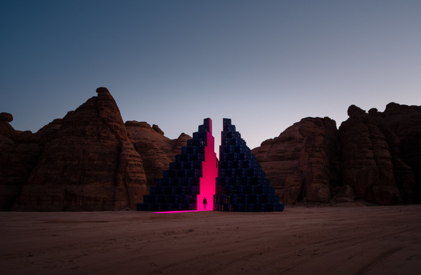 Saudi Arabia Launches Art Expo in Desert Oasis to Boost Tourism