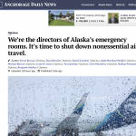 "Dunleavy administration ""strongly advises"" against non-essential air travel as pressure builds"