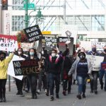 'No justice, no peace!': Thousands demonstrate in Southcentral against racism and police killings